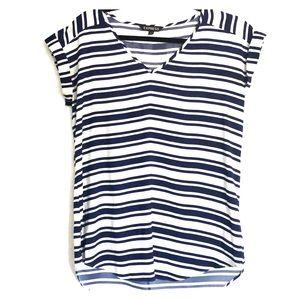 Express- Women's blue striped top